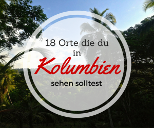 18 Orte in kolumbien