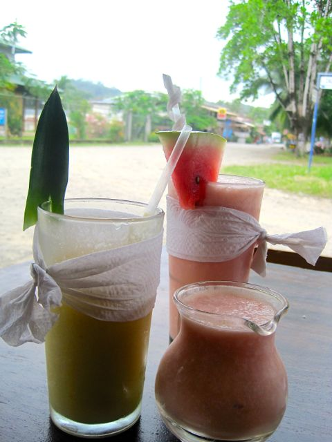 Zion Cafe smoothies