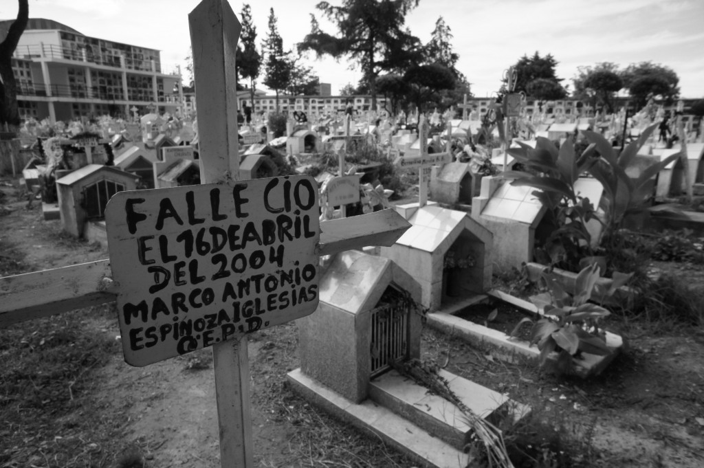 Cemetery Sucre