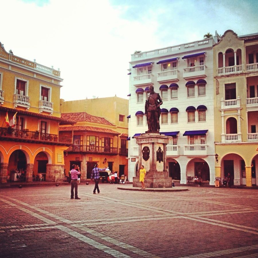 colonial buildings historic city centre